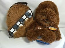 Star Wars Chewbacca Gift Set Furry Thermos Lunch Bag Box Hideaway Curl Up Pillow