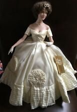 "JACKIE KENNEDY HEIRLOOM BRIDE DOLL ""HEADPIECE & BRACELET"" ""SEE PHOTOS"""