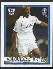 Merlin Football Sticker - Kick Off 2007-08 - No 48 - Bolton - Abdoulaye Meite