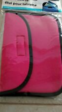 New Tablet Sleeve Fits up to 8 inch Pink Black Universal Nook Apple Ipad