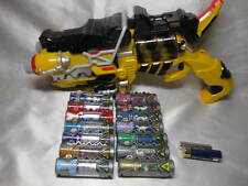 Power rangers Dino Charge Kyoryuger Zyudench Dino Charger 14pcs Morpher set