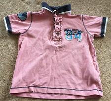 Chicos Camiseta Rosa Tamaño 18-24 meses