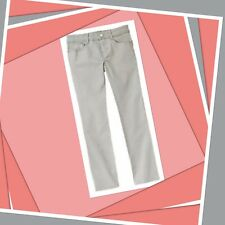 NWT 12 plus Gymboree POLAR PINK SILVER GRAY cotton Spandex JEANS, PANTS Tapered