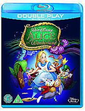 Alice In Wonderland (Blu-ray and DVD Combo, 2011, 2-Disc Set)