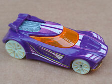 2016 Hot Wheels CHICANE 55/250 Glow Wheels LOOSE Purple