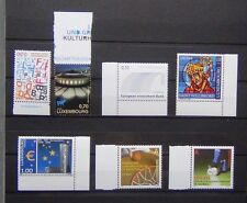Luxembourg 2007 2008 Commemorative issues Sport Culture Bank etc MNH