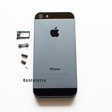 Space Gray iPhone 5S Back Housing Battery Cover Replacement