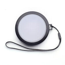 52mm White Balance Lens Cap with Filter Mount for DV DC DSLR SLR