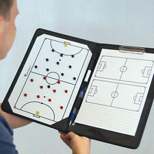 NEW Precision Futsal Coaches Tactic Folder - Cheap Managers a4 tactics Board