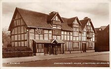 BR61120 shakespeare house stratford upon avon real photo  uk