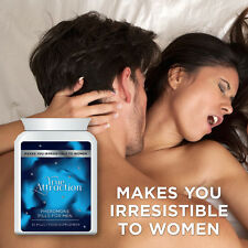 TRUE ATTRACTION PHEROMONE PILLS FOR MEN – BECOME BABE MAGNET HOT SEXY LADY