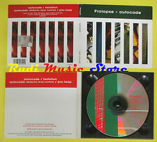 CD Singolo PROLAPSE Autocade DIGIPACK 1997 RADAR SCANCS26 no lp mc dvd vhs (S14)