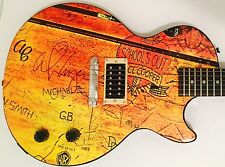 Alice Cooper Signed Autographed Schools Out Limited Edition Guitar w Photo Proof