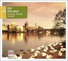 DIE MOLDAU 2 CD NEU SMETANA/DVORAK/JANACEK