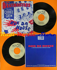 "LP 45 7"" THE BEATMASTERS COOKIE CREW Rok da house 1987 italy MUTE cd mc dvd"