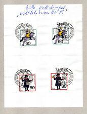 C DEUTSCHLAND, GERMANIA , ERSTAUSGABE BLATT FUR DIE WOHLFAHRTSPFLEGE 1989