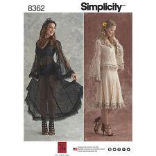 Simplicity Sewing Pattern 8362 Bridal Vintage Lace Blouse Skirt Sz 14-22 Uncut
