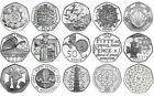 VARIOUS UK GB COMMEMORATIVE 50P FIFTY PENCE COINS - SELECT FROM LIST 1998-2015