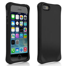 For IPHONE 5 5S BALLISTIC URBANITE CASE COVER BLACK/CHARCOAL GRAY