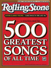 ROLLING STONE-500 GREATEST SONGS OF ALL TIME-EASY GUITAR TAB- MUSIC BOOK NEW!!