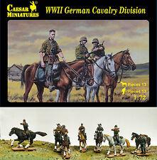 13 Figurines Division de Cavalerie Allemande - CAESAR Miniatures 1/72 n° 092