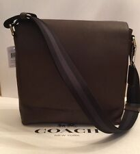 Coach Mens Sullivan Messenger Bag  Leather Shoulder Bag Crossbody F72362