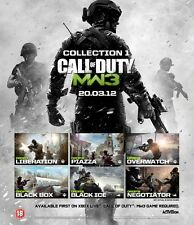 * pc neuf jeu add on call of duty modern warfare 3 dlc pack code 1 boîte de détail pl