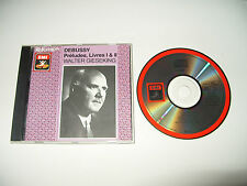 Debussy Preludes Livres 1&2 Walter Gieseking cd 24 tracks 1987 Made In Japan cd