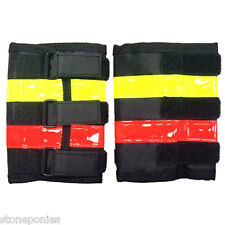 Reflective Leg Wraps Horse Riding Equine Safety Equipment VIP Equips - 1 Pair