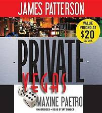 """Private Vegas"" by James Patterson, Maxine Paetro (CD-Audio, 2015)*EXCELLENT*"