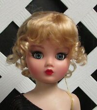 """Doll Wig Size 6/7 Monique Synthetic Mohair """"Clarissa"""" in Golden Stwbry - SALE!"""
