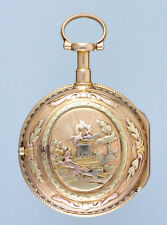Three Colour Gold French Verge pocket watch