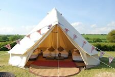 Dream House 4m Bell Tent Outdoor Glamping Canvas Camping Sibley Tent for Family