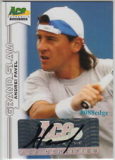 2013 ACE GRAND SLAM TENNIS AUTO: ANDREI PAVEL - AUTOGRAPH ATP 3 CAREER TITLES