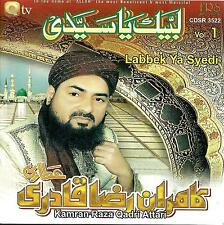 LABBEK YA SYEDI - KAMRAN RAZA QADRI ATTARI - VOL 1 CD - FREE UK POST