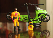 MASK Condor Motorcycle Helicopter sidecar Series 1 M.A.S.K. Brad Turner Kenner