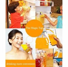 Spill Proof Water & Drink Magic Tap Dispenser Beverage Electric Automatic New