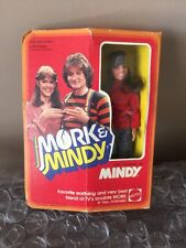 "Mork and Mindy 1979 Vintage Pam Dawber as Mindy Mattel Doll Figure 9"" New In Box"