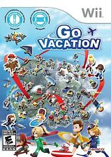 Go Vacation [Nintendo Wii NTSC The Ultimate Family Vacation Video Game] NEW