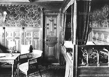 "Photo: 7"" x 5"": RMS Titanic Interior: The 1st Class Colonial Bedroom Suite"