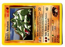 POKEMON GYM HEROES RARE N°  22/132 BROCK's RHYHORN
