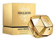 Lady Million Absolutely Gold Paco Rabanne Women 2.7 oz Pure Parfum Spray Nib