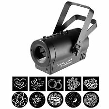 Chauvet LED GOBO ZOOM Proiettore USB Wireless Matrimonio Luce 25w LOGO Stampabile