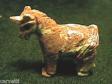 Peruvian Soapstone Unicorn Carving Figurine (1)
