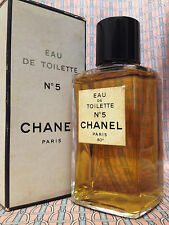 Vintage RARE 1970s Chanel No 5 LARGE 4 oz 118 ml Eau de Toilette - OLD FORMULA