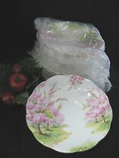 "Royal Albert BLOSSOM TIME SAUCER only  5 5/8"" d ** INVENTORY SALE ENDS 4/15"