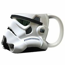 Official Star Wars Stormtrooper Helmet Design 3D Ceramic Mug - Gift Boxed White
