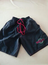UMBRO VINTAGE 90'S BLUE PINK  NYLON SOCCER RUNNING Shorts Mens MEDIUM USA MADE