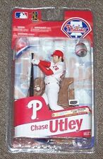 McFarlane MLB Series 27 Chase Utley Phillies figure Full case of 8 no Varient
