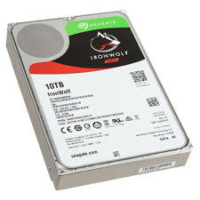 SEAGATE NAS HDD 10TB IronWolf 7200rpm 6Gb/s SATA 256MB cache 8,9cm 3,5Zoll 24x7